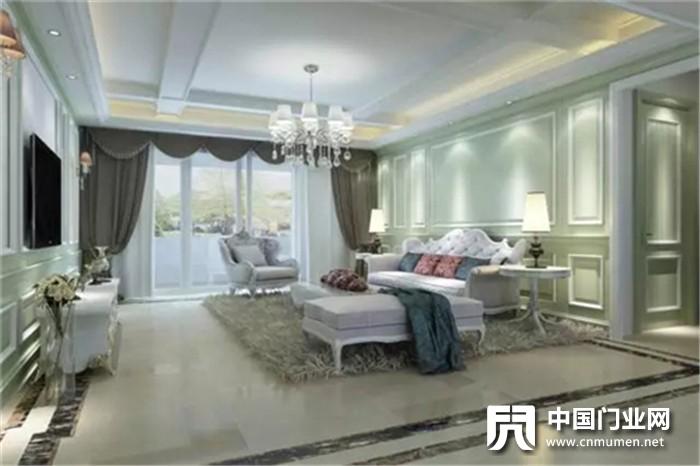 tata木门:墙裙加壁纸,我家的木门才不是颜值担当呢