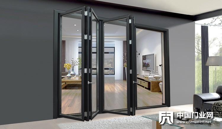 喷涂灰色工业折叠门方案展示