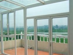 断桥铝门窗长沙断桥铝封阳台108断桥窗纱一体