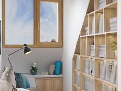 美沃门窗卡莱克系列铝包木窗装修效果图