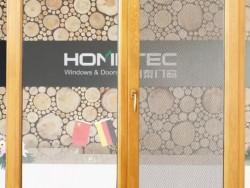 HS128/138铝包木窗纱一体内开窗