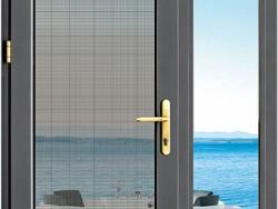 汉慕斯门窗135窗纱一体平开门