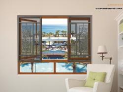 奥舒普门窗3D雕绘窗花案例 (3)