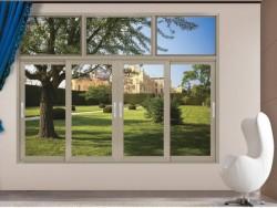 希欧门窗120推拉窗