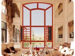 汉诺微门窗108断桥窗纱一体平开窗