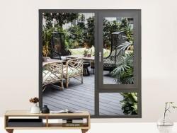 皇萨系统门窗断桥铝门窗产品效果图