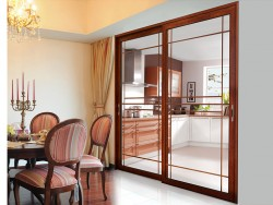 泊尔英菲门窗吊趟门系列装修效果图,吊趟门装修图 (2)