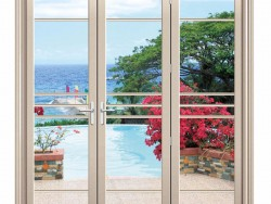 柏兹门窗88重型折叠门装修效果图
