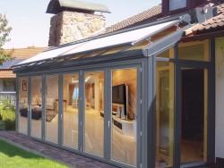柏兹门窗三种风格阳光房装修案例