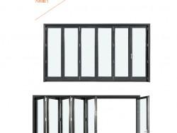 百利玛门窗塞纳河畔系列折叠门