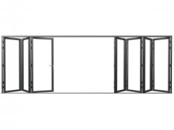 欣畅门窗XCFD85折叠门