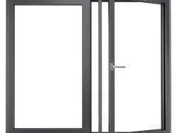 欣畅门窗XCTT- 105内开内倒双层窗