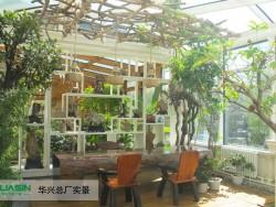 华兴节能门窗铝包木幕墙+阳光房装修实例