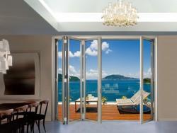 华兴节能门窗重型大折叠门
