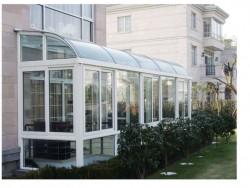 欧莱诺门窗弧形阳光房