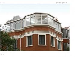 欧莱诺门窗各种形状的阳光房装修图片