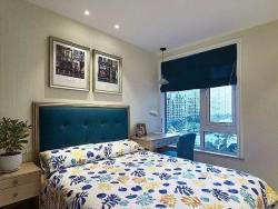 卧室银白色断桥铝门窗图片 欧式铝合金门窗图片 (12)