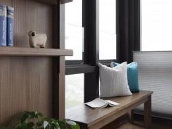 现代简约黑色铝合金窗外观效果图,家用铝合金门窗图片 (5)