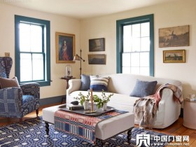 客厅沙发靠窗户设计图