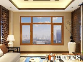 大自然铝门窗新中式装修风格效果图