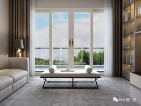 阳台要不要做隔断?诗尼曼阳台铝门窗装修效果图
