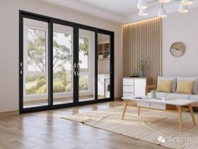 诗尼曼门窗客厅铝合金门窗装修图
