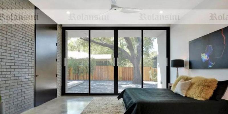 罗兰西尼推拉门装修图,追求完美的私家定制门窗