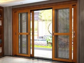 今天门窗铝木门产品系列装修效果图