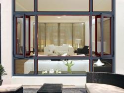 罗兰德式门窗135断桥窗纱一体系列