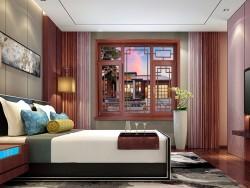 萨洛凯门窗96铝包木平开窗