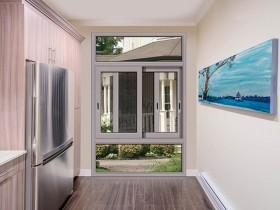 意博新风尚推拉窗系列产品效果图片