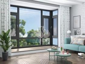 诗尼曼门窗常见几款铝合金窗开启方式装修图片