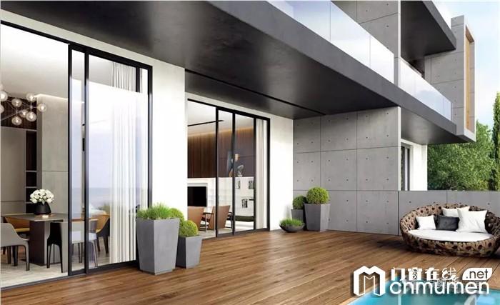 帝奥斯极景窄边框推拉门,高颜值高品质的典范