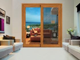 万加门窗标准铝合金推拉门装修效果图