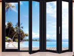 怡发门窗铝合金折叠门图片 YF-1856