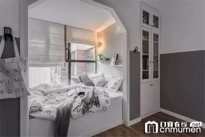 轩尼斯门窗打造的小户型婚房,可是引来很多人的羡慕呢!