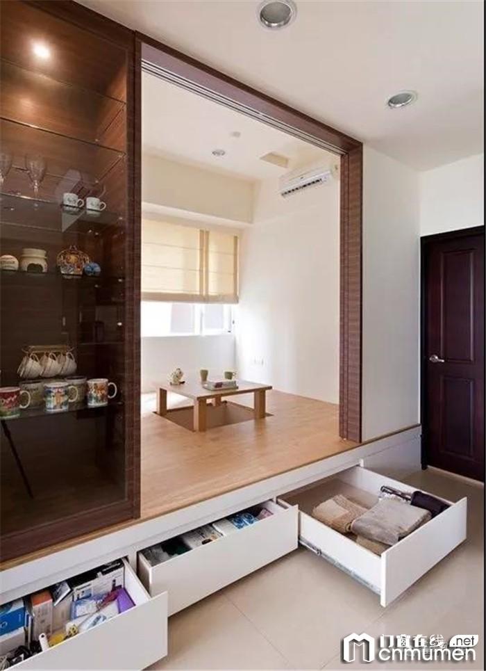 富轩门窗的榻榻米设计,让你爱到无法自拔!