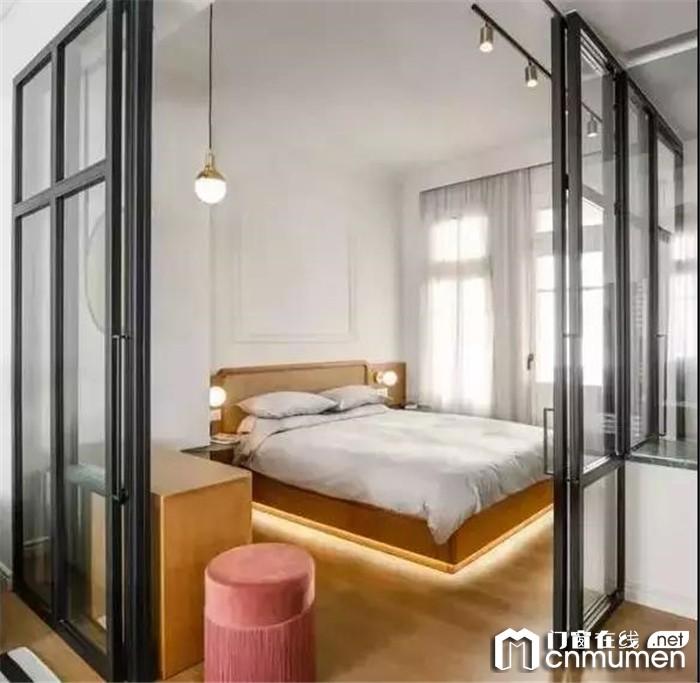 圣堡罗带来家居干货敲掉隔墙!巧妙使用玻璃门窗能让视觉空间增倍