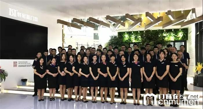 2019年广州建博会轩尼斯门窗完美收官,同开启同奋进 筑未来的征程!