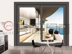亮阁铝门窗天璇系列R100重型门