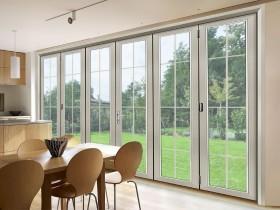 皇派门窗折叠门图片,折叠门装修效果图