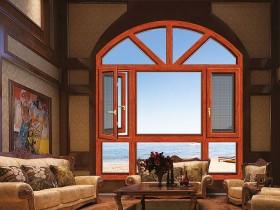 圣米兰门窗断桥二合一平开窗装修效果图