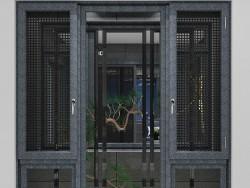 法坚尼门窗 FJ108PLUS窗纱一体平开窗