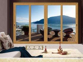 博乐木铝窗180重型推拉门系列产品效果图