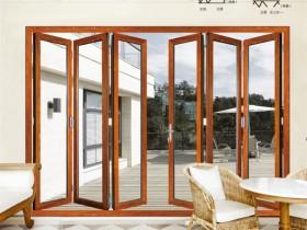 铭师门窗重型折叠门系列产品效果图