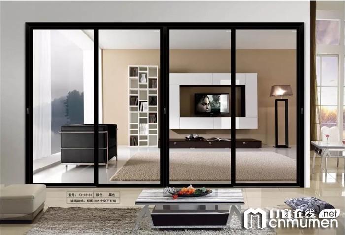 俯瞰全景的时尚推拉门哪里找?富轩门窗是你的最佳选择!