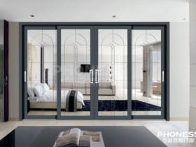 菲尼斯门窗铝合金推拉门产品效果图