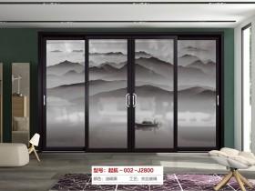 铿固门窗新中式风格门窗效果图