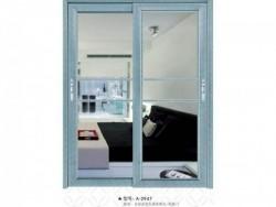 铿固门窗 A-2947 80银弧系列