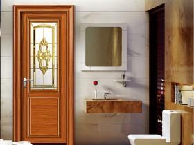 科伦尼门窗卫生间平开门产品效果图